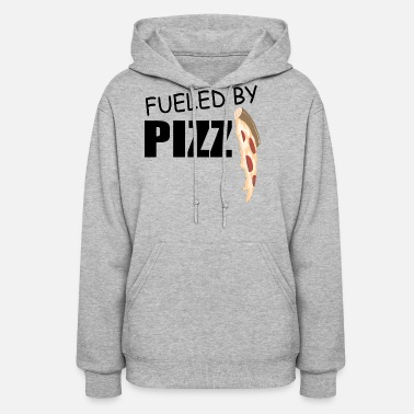 Drip fueled by pizza drip - Women's Hoodie