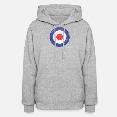 Royal Air Force Royal Air Force World War II Spitfire Logo Retro - Women's Hoodie
