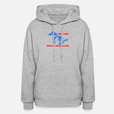 Lake AWESOME lakes - Women's Hoodie