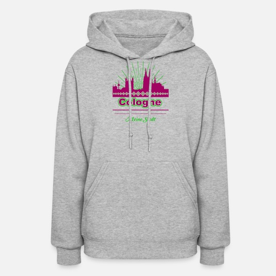 Cologne Hoodies & Sweatshirts - Cologne - Women's Hoodie heather gray