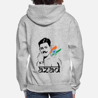 Freedom Fighters Chandra Shekhar Azad Indian Freedom Fighter - Women's Hoodie