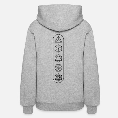 Platonic Solids platonic-solids - Women's Hoodie