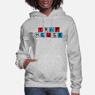 Red White And Blue Trap house red white and blue - Women's Hoodie
