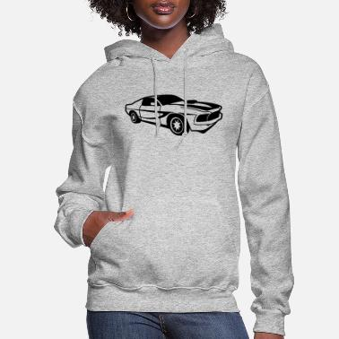 Drive Go By Car Sportcar,cars,car,vehicle,sportscar,cart,Racer, - Women's Hoodie