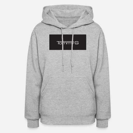 Brand Hoodies & Sweatshirts - Tommy g merch brand - Women's Hoodie heather gray