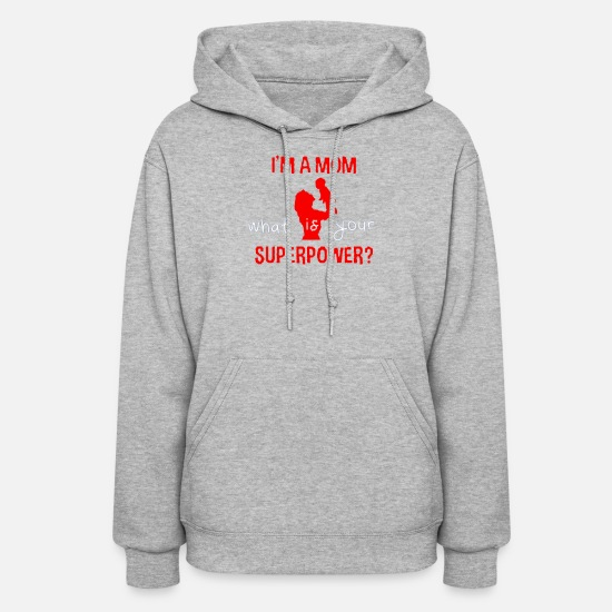 Mother's Day Hoodies & Sweatshirts - For Mother - Women's Hoodie heather gray