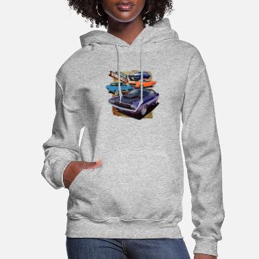 Muscle Car Classic Muscle cars - Women's Hoodie