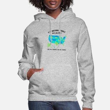 National Park National Park T Shirts Listing all 59 Parks - Women's Hoodie