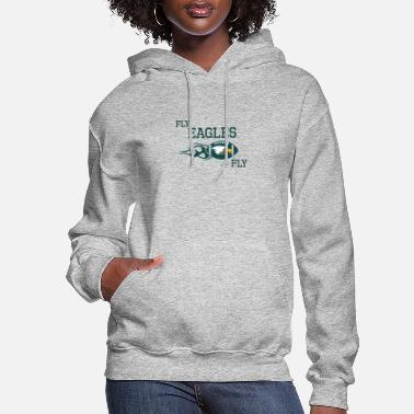 Fly Fly Eagles fly - Women's Hoodie