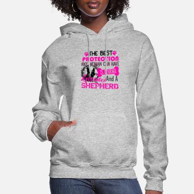 German German Shepherd Courage Shirt - Women's Hoodie