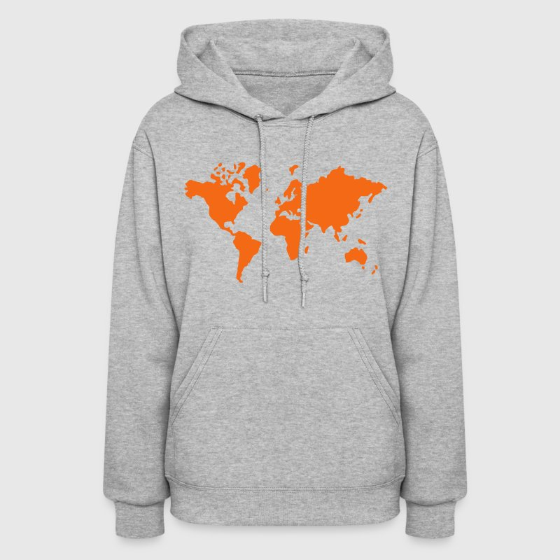 Earth world map hoodie spreadshirt gumiabroncs Images
