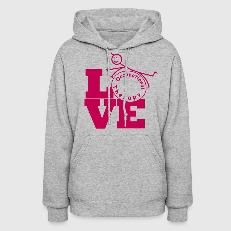 LOVE Occupational Therapy - Women's Hoodie