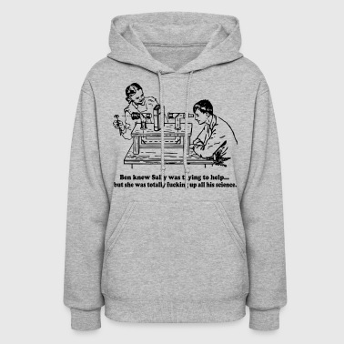 Sally Can't Fucking Science - Women's Hoodie
