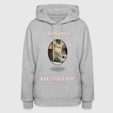 Universe CATS RULE THE UNIVERSE - Women's Hoodie