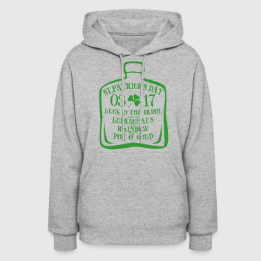 irish bottle - Women's Hoodie