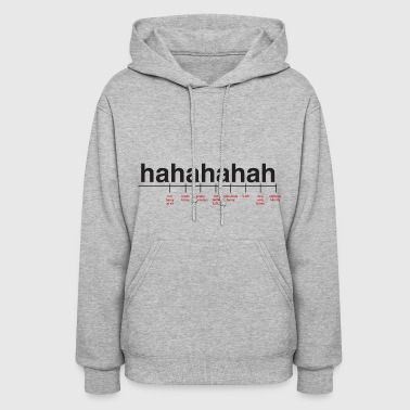 Breaking Down Laughter - Women's Hoodie