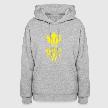 OVERWATCH MERCY HEROES NEVER DIE DESIGN - Women's Hoodie