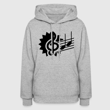 Music Notes - Music Notes - Women's Hoodie
