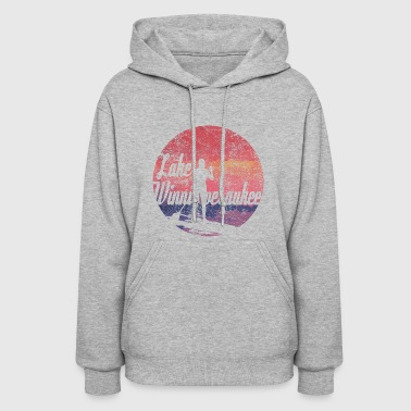 Board Lake Winnipesaukee Paddle Board Tee Shirt - Women's Hoodie