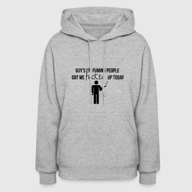 Fuming people - Women's Hoodie