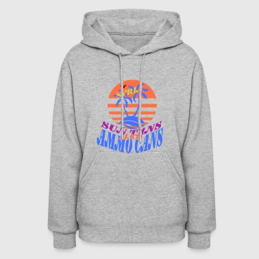 Sun Tans and Ammo Cans - Syria - Women's Hoodie