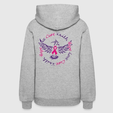 Faith Hope Love Cure.png - Women's Hoodie