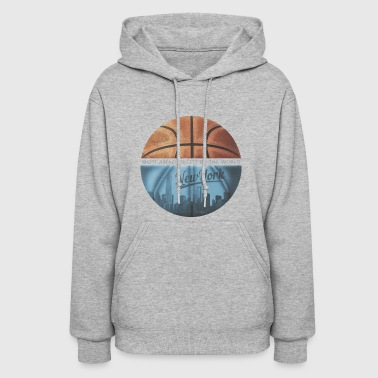 New York City Basketball Tee - Women's Hoodie