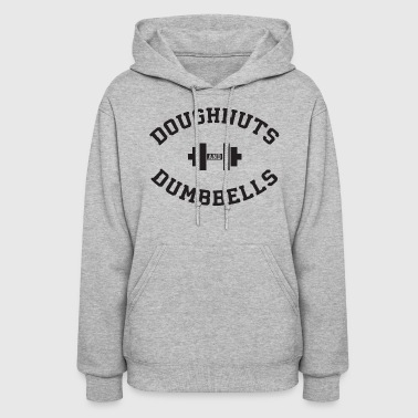 Doughnuts And Dumbbells - Women's Hoodie