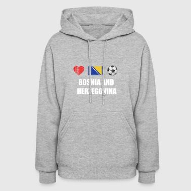 Bosnia and Herzegovina Football Shirt - Bosnia and - Women's Hoodie