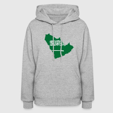 Flag of Greater Saudi Arabia - Women's Hoodie