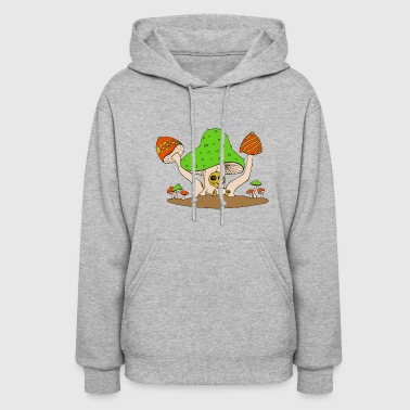 mushroom party - Women's Hoodie