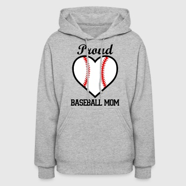 Proud Baseball Mom Shirt - Women's Hoodie