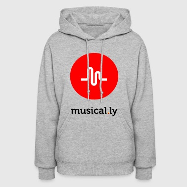 Adult musical.ly - Women's Hoodie