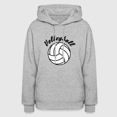 Volleyball Design - Women's Hoodie