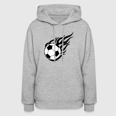 Ball On Fire - Women's Hoodie