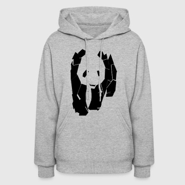 panda at the corner - Women's Hoodie