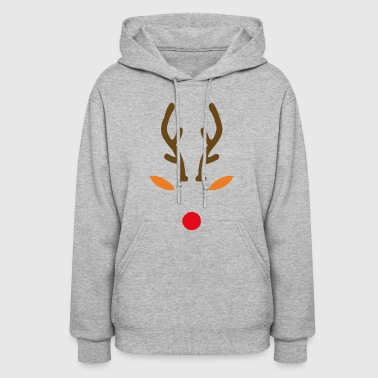 Rudolph The Red Nose Deer - Women's Hoodie
