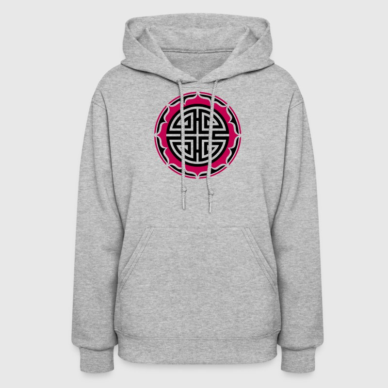 Four blessings, Chinese Good Luck Symbol, Charms - Women's Hoodie