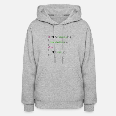 Coding Coffee - coding syntax - Women's Hoodie
