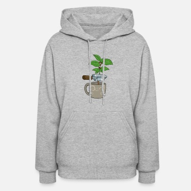 Espresso Coffee Plant Espresso Machine - Women's Hoodie