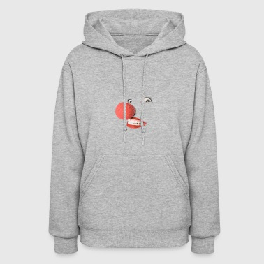 Nose Red nose, clown - Women's Hoodie