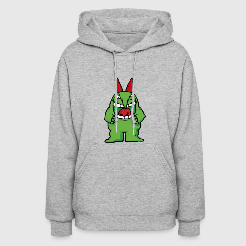Just For Laughs Gags Victor Mascot CrazyEyes - Women's Hoodie