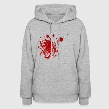 Blood Splatter Halloween - Women's Hoodie