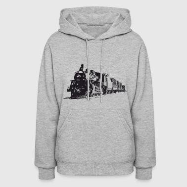 eisenbahn zug tram train railroad railway locomoti - Women's Hoodie