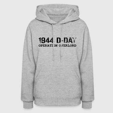 Normandy 1944 D-Day Operation Overlord (Black) - Women's Hoodie