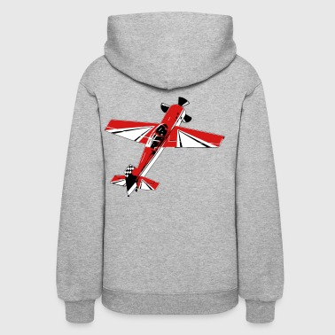Aerobatic Acrobatic 3D Airplane - Women's Hoodie