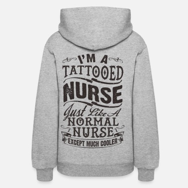Nurse TATTOOED NURSE - Women's Hoodie