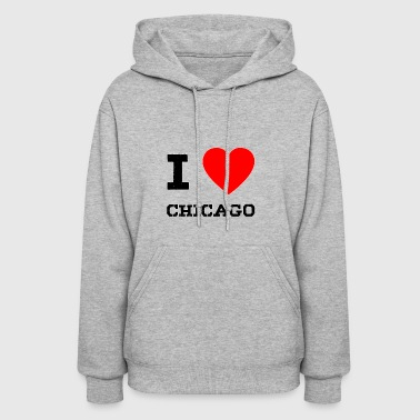 i love Chicago - Women's Hoodie