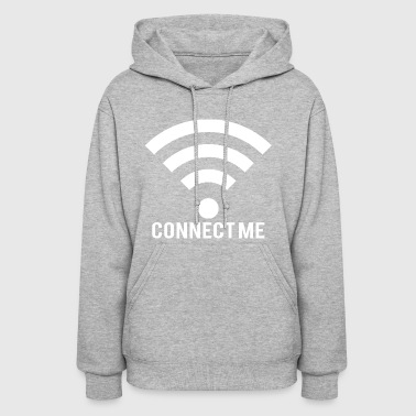 Connect me white - Women's Hoodie
