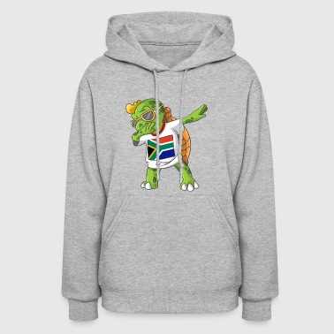 South Africa Dabbing Turtle - Women's Hoodie